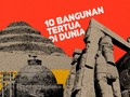 INFOGRAFIS: 10 Bangunan Tertua di Dunia