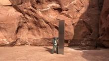 Tonggak Logam Misterius Ditemukan di Gurun Amerika Serikat
