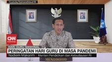 VIDEO: Pidato Mendikbud di Hari Guru di Masa Pandemi