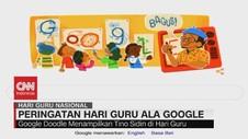 VIDEO: Peringatan Hari Guru Ala Google