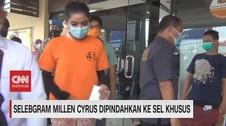 VIDEO: Selebgram Millen Cyrus Dipindahkan ke Sel Khusus