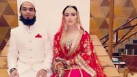 <p>Suami Sana Khan bernama Mufti Anas yang merupakan lulusan sekolah agama. (Foto: Instagram @sanakhaan21)</p>