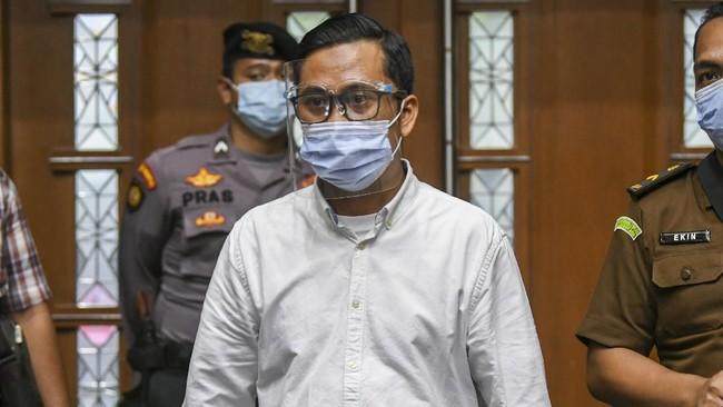 Perantara Suap Djoktjan, Andi Irfan Divonis 6 Tahun Penjara