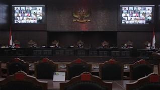 Sidang UU Ciptaker di MK, Demokrat Disebut WO Saat Diliput