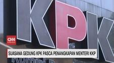 VIDEO: Suasana Gedung KPK Pasca Penangkapan Edhy Prabowo