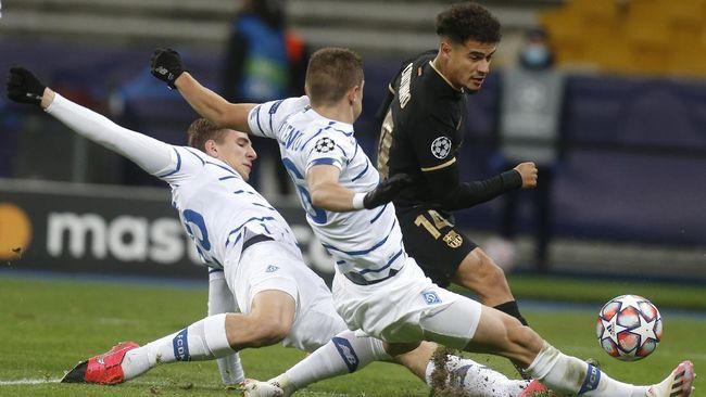 Kemenangan 4-0 Barcelona atas Dynamo Kiev di Liga Champions tidak menggambarkan keseluruhan pertandingan selama 90 menit.