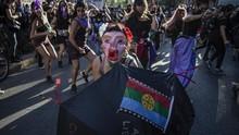 FOTO: Aksi Anti Kekerasan Perempuan di Penjuru Dunia