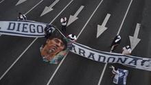 FOTO: Tangis Argentina atas Kematian Maradona