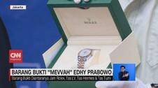 VIDEO: Barang Bukti Mewah Milik Edhy Prabowo