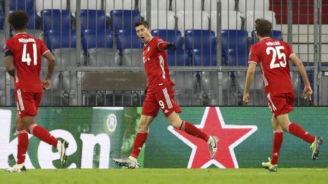 Berikut hasil lengkap Liga Champions matchday keempat yang dimainkan pada Kamis (26/11) dini hari WIB.