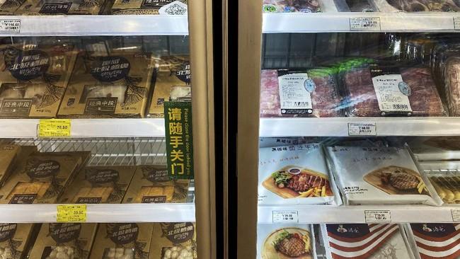 China meningkatkan keamanan dalam kemasan makanan impor untuk mencegah penyebaran virus corona.
