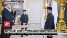 VIDEO: Penyerahan Surat Kepercayaan Dubes RI Untuk Belanda