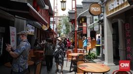 FOTO: Puas Makan dan Selfie di 'Pecinan Baru' Jakarta