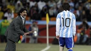 Messi Disebut Tak Punya Gairah Seperti Maradona