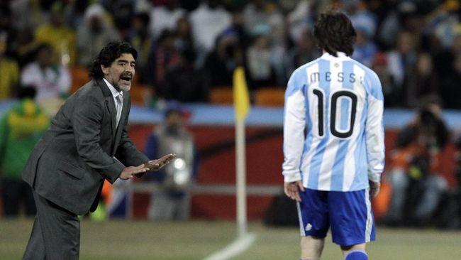 Diego Maradona dan Cristiano Ronaldo disebut memiliki hasrat yang luar biasa di sepak bola, sementara Lionel Messi tidak.