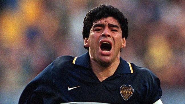 Barcelona vs Boca Juniors di Maradona Cup
