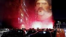 FOTO: Maradona Meninggal, Dunia pun Berduka
