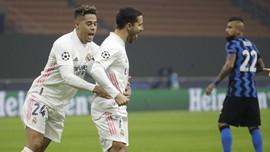 Hasil Liga Champions: Real Madrid Kalahkan Inter 2-0