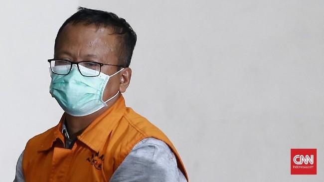 Edhy Prabowo Jalani Pemeriksaan Perdana Usai Jadi Tersangka
