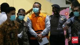 Jadi Tersangka, Menteri KP Edhy Prabowo Ditahan KPK 20 Hari