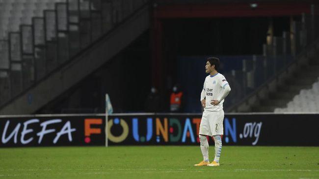 Marseille mencatatkan rekor buruk di Liga Champions sebagai tim dengan kekalahan beruntun terbanyak dengan jumlah 13 laga.