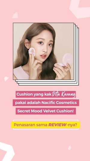 Nacific Secret Mood Velvet Cushion Dita Karang