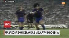 VIDEO: Maradona & Kenangan Melawan Indonesia