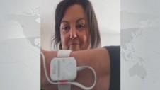 VIDEO: Italia Gunakan Gelang Pantau Kondisi Pasien Covid-19
