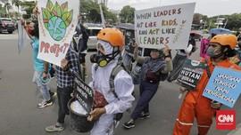 FOTO : Menuntut Aksi Nyata Perlindungan Iklim Berkelanjutan