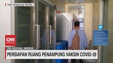 VIDEO: RSUD Tangerang Siapkan Ruang Penampung Vaksin Covid-19