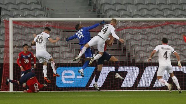 AC Milan kembali gagal meraih kemenangan ketika menghadapi Lille di fase grup Liga Europa, Jumat (27/11) dini hari waktu Indonesia.