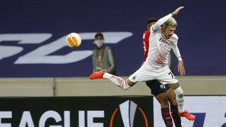 FOTO: Milan Belum Bisa Menang di Liga Europa
