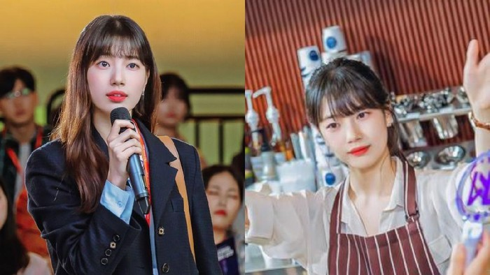 Inspirasi Gaya ala Suzy di Drama Korea Start Up