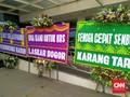 Karangan Bunga untuk Rizieq Shihab Banjiri RS Ummi Bogor