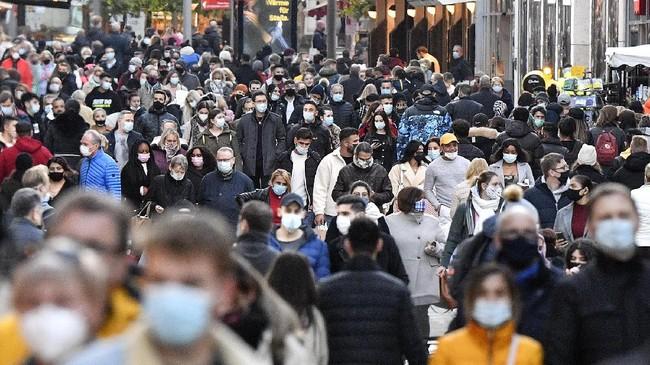 Kasus infeksi virus corona di Jerman pada Jumat (27/11) tembus 1 juta.