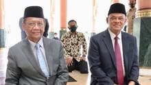 Mahfud MD Bertemu Gatot Nurmantyo: Bicara dari Hati ke Hati