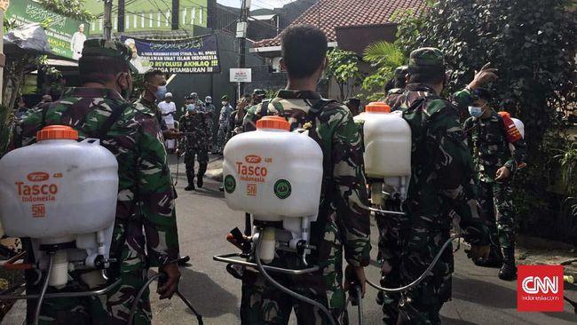 Kodim 0501 Jakpus bakal mendatangi langsung warga di Petamburan yang menolak menjalani rapid test.