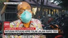 VIDEO: Ratusan Petugas KPPS Tolak Jalani Rapid Test