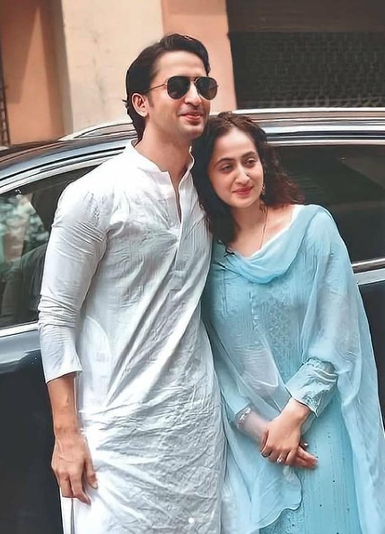 Ruchika Kapoor, istri Shaheer Sheikh.