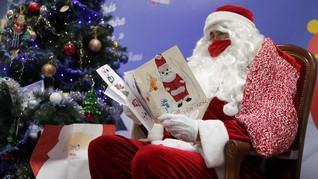 FOTO: Sejarah Munculnya Tradisi 'Surat untuk Santa Claus'