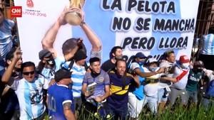 VIDEO: Sorakan Duka untuk Diego Maradona