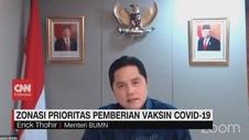 VIDEO: Zona Merah jadi Prioritas Pemberian Vaksin Covid-19