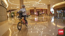 FOTO : Gowes Sepeda Keliling Mal di Jakarta