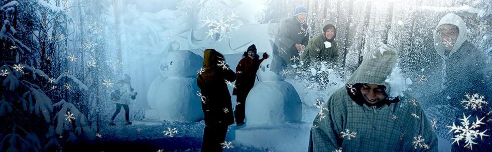 Main Salju di Asia