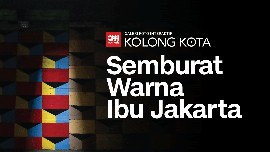 Kolong Kota: Semburat Warna Ibu Jakarta