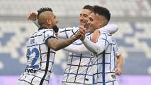 Hasil Liga Italia: Inter Menang Telak 3-0 atas Sassuolo