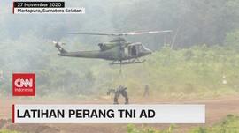 VIDEO: Melihat Lebih Dekat Latihan Perang TNI AD