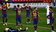 Barcelona Unggul 2-0 atas Osasuna di Babak Pertama