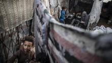 FOTO: Blokade Israel Hancurkan Ekonomi Gaza