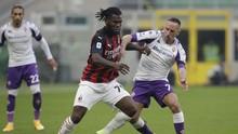 Hasil Liga Italia: Milan Menang 2-0 atas Fiorentina